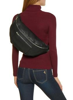 Oversized Double Zip Fanny Pack - 3126074392001