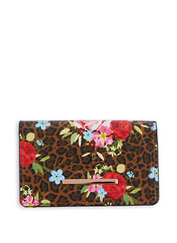 Small Faux Leather Wallet - 3126074392099