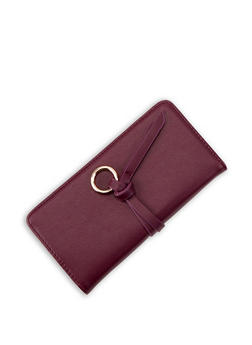 Metallic Ring Bifold Wallet - 3126074397963