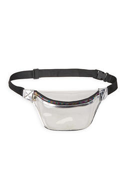 Clear Fanny Pack - SILVER - 3126074399038
