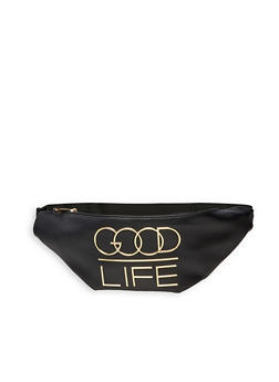 Good Life 3D Graphic Fanny Pack - 3126074399737