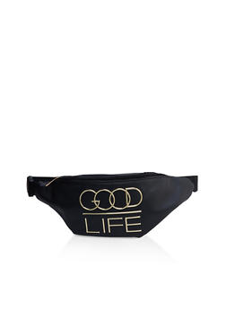 Good Life 3D Graphic Fanny Pack - 3126074399989