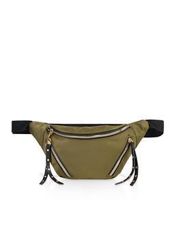 Triple Zip Fanny Pack - 3126075501630
