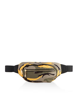 Colored Camo Fanny Pack - 3126075502532