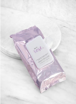 Rose Water Infused Makeup Remover Wipes - 3127056480238