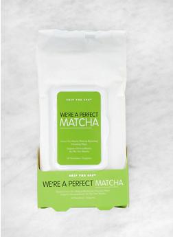 Matcha Green Tea Makeup Remover Wipes - 3127056480315