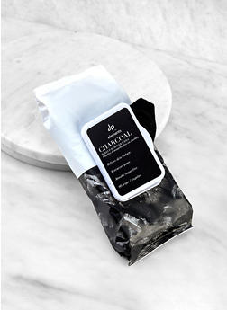 Charcoal Makeup Remover Wipes - 3127056480512