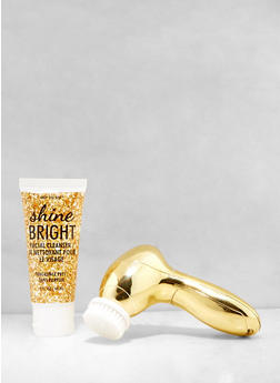Shine Bright Facial Cleansing Brush Set - 3127056481466