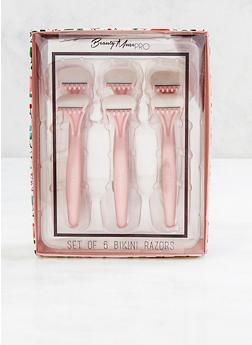 Set of 6 Bikini Razors - 3127058850264