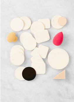 Assorted Makeup Sponge Set - MULTI COLOR - 3127072500001