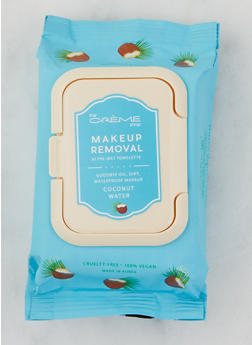 Coconut Water Makeup Removal Towelettes - 3127072503486