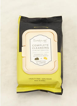 Charcoal and Lemon Cleansing Wipes - 3127072503492