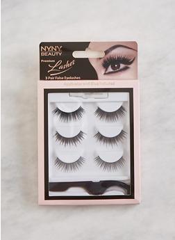 3 Pair False Eyelashes - 3127072600001