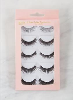 5 Pack False Eyelashes - 3127072607000
