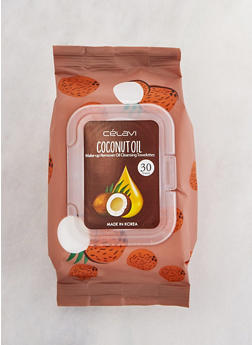 Coconut Oil Makeup Remover Cleansing Towelettes - 3127073600005