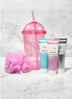 Shower Kit Tumbler with Straw - 3127075609909