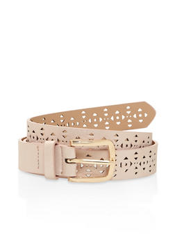 Triangle Laser Cut Belt - 3128073339111
