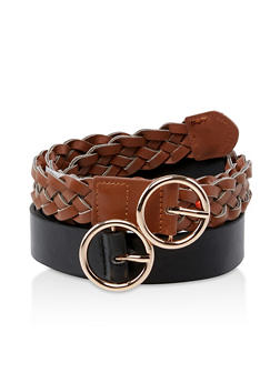 Braided and Flat Belt Duo - 3128074392761
