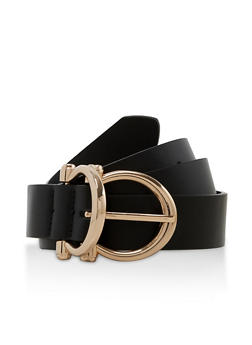 Double Buckle Belt - 3128075471030