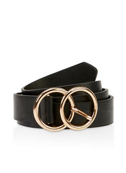 Double Circle Buckle Belt - 3128075472150