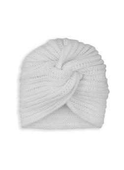 Knit Twist Front Turban Head Wrap - 3129067444927