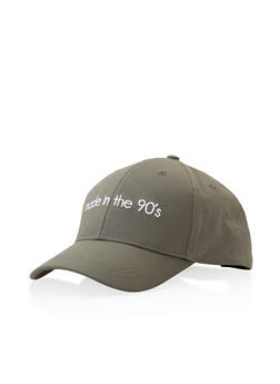 Made in the 90s Graphic Embroidered Baseball Cap - 3129067448022
