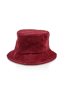 Corduroy Bucket Hat - 3129067449022