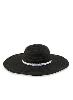 61b90fcadb64f Braided Floppy Sun Hat - 3129067449900