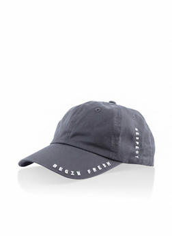 Graphic Baseball Cap - 3129074392179