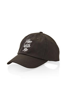 Graphic Embroidered Baseball Cap - 3129074506010