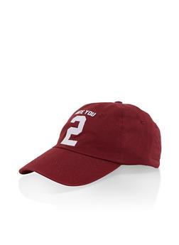 Graphic Baseball Hat - 3129074506015