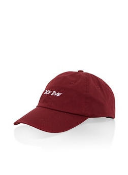Boy Bye Graphic Baseball Cap - 3129074506037