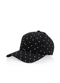 Polka Dot Baseball Hat - 3129075131851