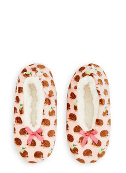 Sherpa Critter Slippers - PINK - 3130055321475