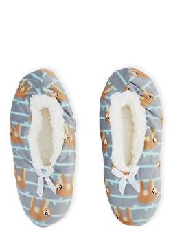 Sherpa Lined Critter Slippers - 3130055324445