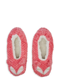 Sherpa Animal Slippers - PINK - 3130055324488