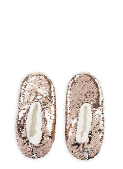 Reversible Sequin Slippers - 3130055326699
