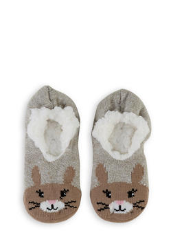 Critter Knit Slippers - 3130055328200