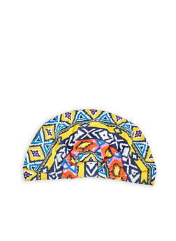 Printed Turban Head Wrap - 3131018433189