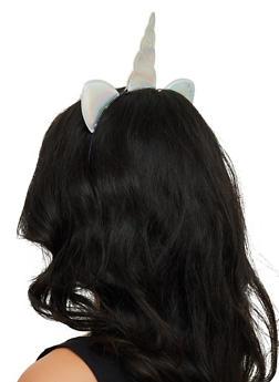 Iridescent Unicorn Headband - 3131059636124