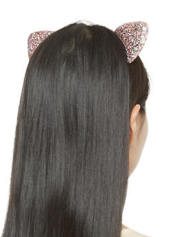 Glitter Cat Ear Headband - 3131063090925