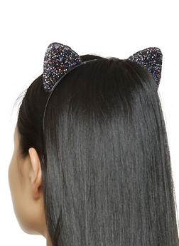Glitter Cat Ear Headband - 3131063090925