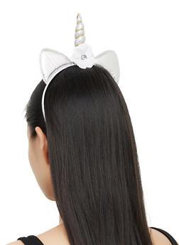 Unicorn Flower Headband - 3131063091154