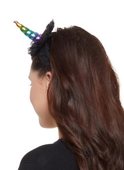 Rainbow Unicorn Head Wrap - 3131063092618