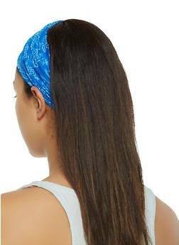 Printed Stretch Headband - 3131063097181