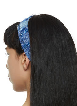 Frayed Head Wrap - 3131063097709
