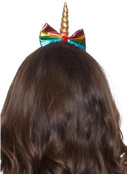 Rainbow Unicorn Headband - 3131063098586