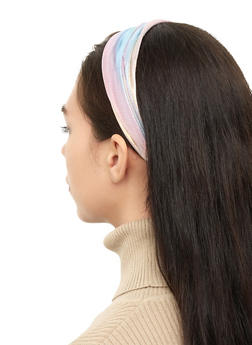 Iridescent Elastic Head Wrap - 3131063099164