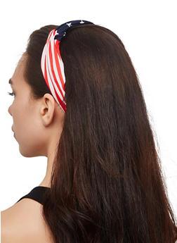 Elastic American Flag Head Wrap - 3131067251111