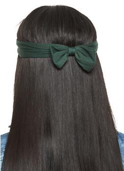 Set of 2 Bow Headwraps - 3131067257112